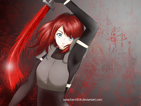 TG:re OC: Red Witch by sarachan1818