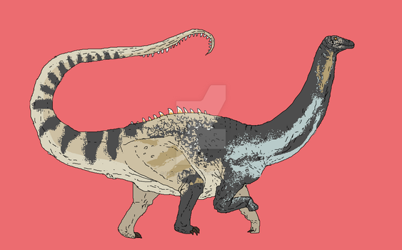 Generic apatosaur by Lucas-Attwell