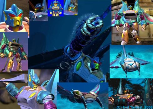 Depth Charge collage by AlphaPrimeDX