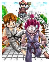 Lil' Street Fighter xD by Articu