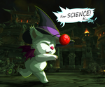 -For SCIENCE! Kupo!- by Traconian