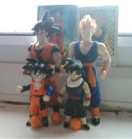 Old DBZ figures by supernanny191