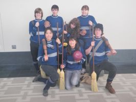 Ravenclaw Quidditch team by Pheli-Sora