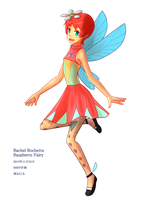 Rachel Rochette, Raspberry Fairy by kite-anomaly