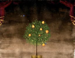 The Orange Tree by wingbeats