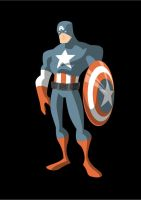 Captain America by Apollorising