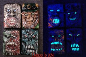 Latest batch 7-24-14 by Undead-Art