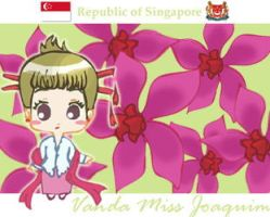 Flower of Singapore by refudger