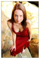 Kathryn - red dress 2 by wildplaces