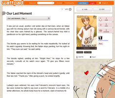 OUR LAST MOMENT into FANFIC !! ( Different one ) by aphin123
