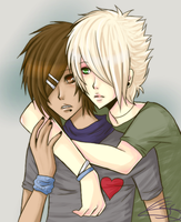 ARTTRADE - Alec and Connor by kagomelovesinu