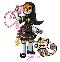 Sister Claire Trainer Pixel by Yamino
