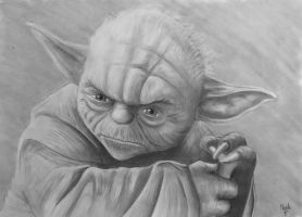 20140701 Yoda by MixaArt