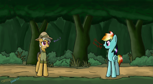 Oh my gosh. Thats Daring Do! by Ter0k