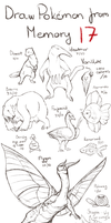 Draw Pokemon from Memory 17 by ShadeofShinon
