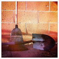 Broom and Shovel by Ruben-P