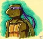 Donatello Inks Doodle by ellensama
