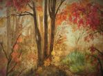 Autumn Forest by Sam-Connelly