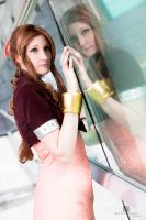 Aerith - Part of two worlds by SoraPaopu