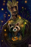 WE ARE GROOT by nastjastark