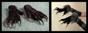 Werewolf Claws by CuriousCreatures