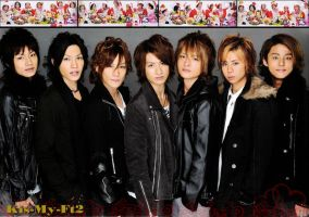 Kis-My-Ft2 poster for Eszti by keytoinfinity