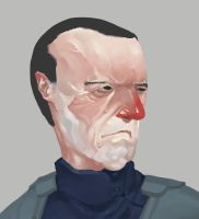 Portrait of a General by Gumbogamer