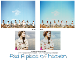 Action A Piece of Heaven by xX-Peach-Xx