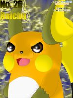 26 - Raichu by SurfingCharizard