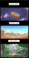 Our comic book  Food 100 by narrator366