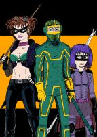 Kick-Ass Trinity Heroes by C4L