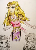 Princess Zelda: OoT by CraftyNess