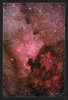 Northamerica Nebula by photon-hunter