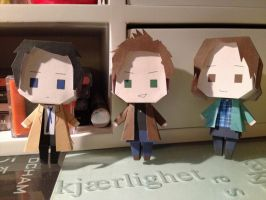 Team Free Will Papercraft by Yolapeoples
