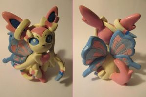 Sylveon Sculpture by Sara121089