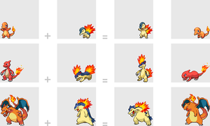 Fire Starter Fusions by mondecolore