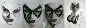 the black cat WIPs by aramismarron