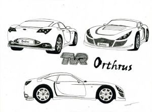 0847 - TVR Orthrus 'concept'