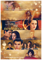 New Moon Quotes poster by BurnIntoSky