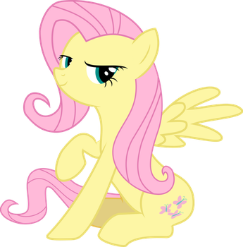 [Vector] Fluttershy by PaganMuffin