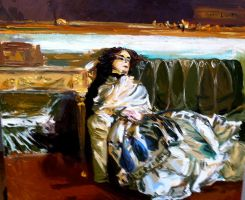 Repose: A Reinvention of John Singer Sargent by 0AngelicWings0