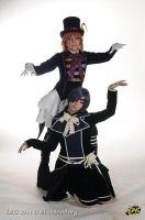 Ciel Phantomhive and Drocell - You'll be my doll by Bunnymoon-Cosplay