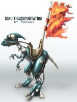 Dino transportation iFINISH by romanear