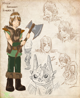 HTTYD-NG: Hiccup Haddock III by PurelyInfected