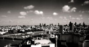 London from above by StonyStoneIsStoned2