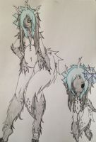 Black Ice Lady by TheifToASlave