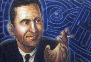 Rod Serling by DelusionInABox