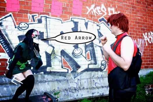 Young Justice - Cheshire Cheap Shot by raitophotography