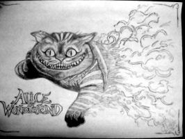 Chesire cat, from Alice... by IgorChakal