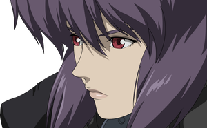 Major Motoko Kusanagi Vector - Daylight Version by Xuuuxx